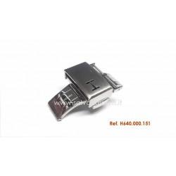HAMILTON fibbia 18mm ORIGINALE buckle deployment 18mm H640.000.151 ref H640000151