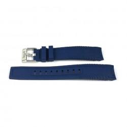 Hamilton Khaki Navy Frogman Blu Cinturino in Gomma 20/18mm H600.776.137 RIF. H600776137