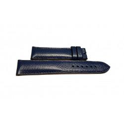 EBERHARD CHIEFTAIN cinturino Blu pelle 20mm ref. 081 ( x ref. 31040, 31048, 31050, 31058, 31140, 31148)