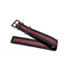 Hamilton Pan Europ Natoband Blu Bianco Rosso 22mm H600.354.101 RIF. H600.354.101