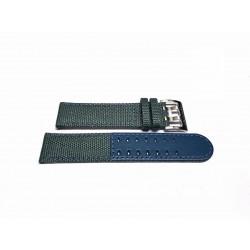 HAMILTON KHAKI field cinturino Blu/Grigio in Tela  20mm ref. H600.682.100 H600682100
