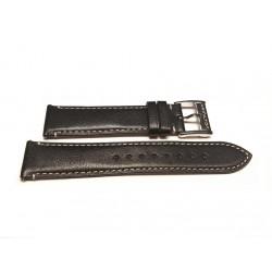 HAMILTON cinturino Nero vitello JAZZMASTER thinline 20mm H600.385.108 ref. H600385108