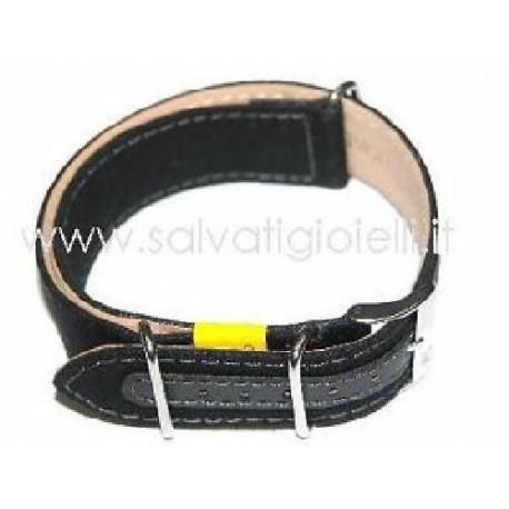 nuovo stile 4bd7c 74132 MORELLATO cinturino nero canvas canvass black strap nato x HAMILTON 18mm -  Gioielli Salvati snc