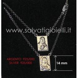 SCAPOLARE ESCAPULARIO SCAPULAR - argento / silver 925/000