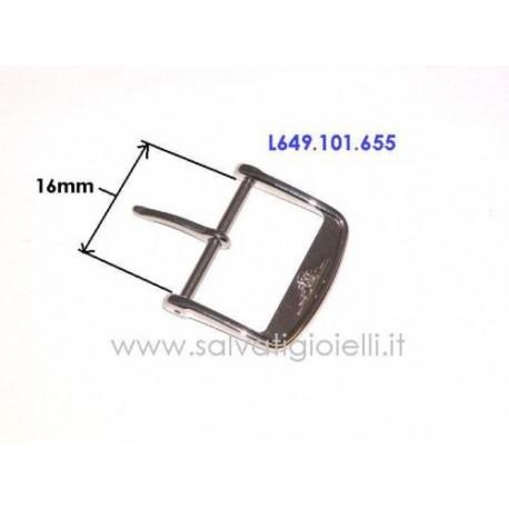 LONGINES ORIGINAL steel buckle 16mm boucle hebilla Dornschließe