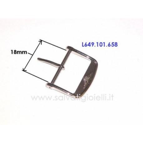 LONGINES ORIGINAL steel buckle 18mm boucle hebilla Dornschließe