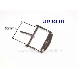 LONGINES steel buckle 20mm ORIGINAL L649.108.156 boucle hebilla Dornschließe L649108156