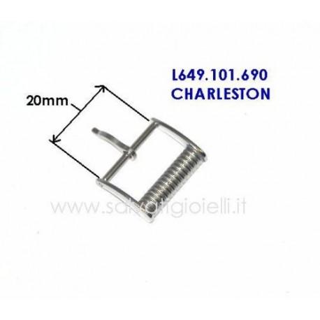LONGINES ORIGINAL steel buckle 20mm boucle hebilla Dornschließe modello Charleston