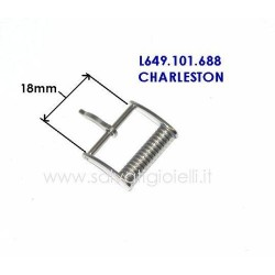 LONGINES buckle 18mm L649101688  model Charleston L649.101.688