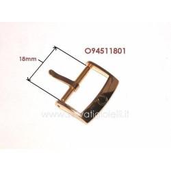 OMEGA ref. 94511801 plated buckle 18mm ORIGINAL - boucle - hebilla - Dornschließe