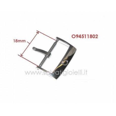 OMEGA ORIGINAL steel buckle 20 mm - boucle - hebilla - Dornschließe