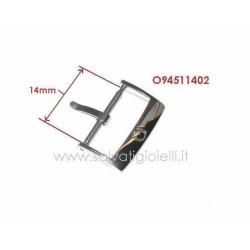 OMEGA ref. 94511402 buckle 14mm GENUINE steel - boucle - hebilla - Dornschließe