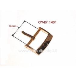 OMEGA ref. 94511401 plated buckle 14mm ORIGINAL - boucle - hebilla - Dornschließe