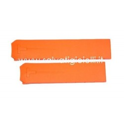 TISSOT T-TOUCH orange strap 20mm Z353/Z253 T610014615 T610.014.615