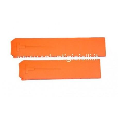 TISSOT T-TOUCH Z353/Z253 cinturino T610014615  20mm orange strap T610.014.615