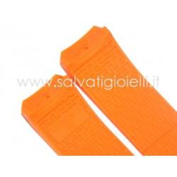 TISSOT cinturino arancione gomma 21mm orange strap T610026463 T-TOUCH T610.026.463