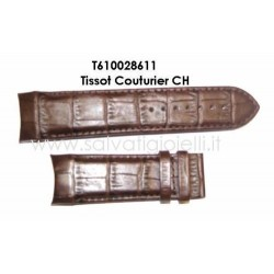 TISSOT Brown strap T610028611 for Tissot Couturier CH T610.028.611