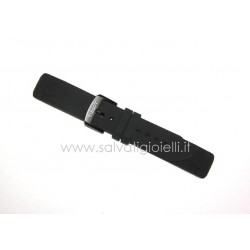 TISSOT black rubber strap 20mm T603035436 T-TOUCH RACE T081420