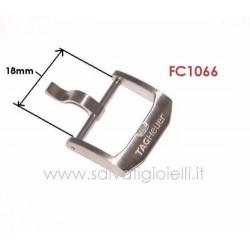 TAG HEUER steel buckle 18mm ORIGINALE boucle hebilla Dornschließe FC1066
