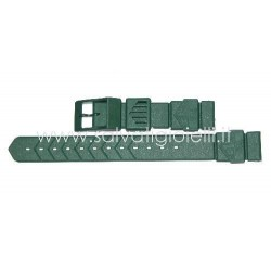TAG HEUER green plastic strap 18mm for FORMULA 1 ref. BS0087 GENUINE