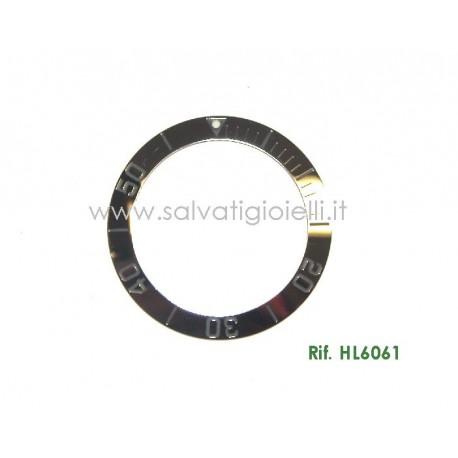 TAG HEUER Original Silver Bezel HL6061 for 2000 Aquaracer WAB1111