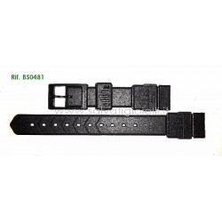 TAG HEUER FORMULA Ladies BS0481 Black strap 15mm BS0481