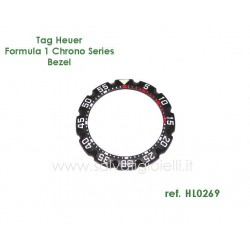 TAG HEUER  Original Plastic Bezel HL0269 for F1 Chrono Series CA1210-1