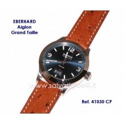 EBERHARD Watch Aiglon Grande Taille Blue41mm ref. 41030 CP