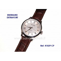 EBERHARD Watch Extra Fort White 40mm (with roman numerals) ref. 41029 CP