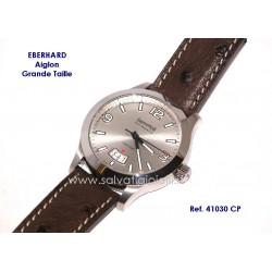 EBERHARD Watch Aiglon Grande Taille Gray  41mm ref. 41030 CP