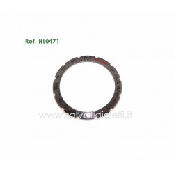 TAG HEUER  Originale Steel Bezel HL0471 for F1 Indy 500 CAC111B