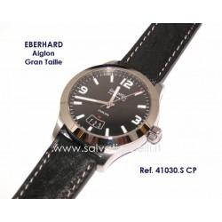 EBERHARD Watch Aiglon Grande Taille Black 41mm ref. 41030.S CP