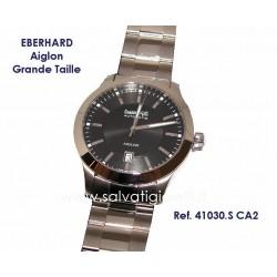 EBERHARD Watch Aiglon Grande Taille Black 41mm ref. 41030.S CA2
