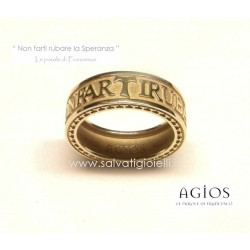 AGIOS Gold ring 375 % 9kt size 15