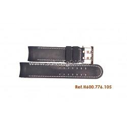HAMILTON cinturino blù NAVY REGATTA rubber strap H600.776.105 ref. H600776105 x H776360 H691.776.105