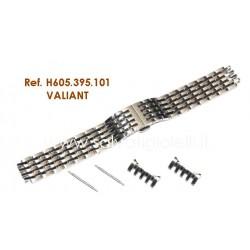 HAMILTON cinturino bracciale VALIANT steel bracelet H605.395.101 ref H605395101 for  H395150