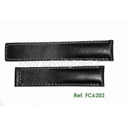 TAG HEUER  CARRERA 19 mm calf strap FC6202 ( for ref: WV211.., WV211.., WV215.. WAS211.. )