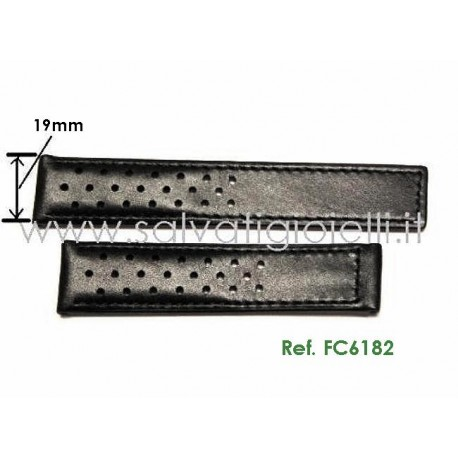 TAG HEUER cinturino vitello CARRERA 19 mm calf strap FC6182 ( for  ref:  WV2115, WV2116, CV2113, WAR2110, CV2111, WAS21.. )