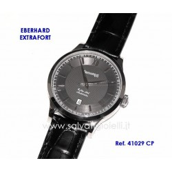 EBERHARD Watch Extra Fort Black 40mm (with roman numerals) ref. 41029 CP