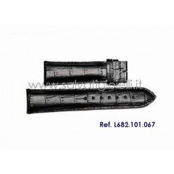LONGINES black strap 21mm L682.101.067 ref. L682101067