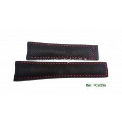 TAG HEUER CARRERA 22mm black strap FC6256 CAV51.. CV2A1.. CV2A8.. CAR2A1.. CAR201.. CAR2A8.. CAR2B1.. CAR2B8.. CV7A1..