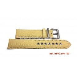 HAMILTON canvas strap 20mm H600.694.100 ref H694190 H982113 H974513 H974517 H974537 H858737 H877510 H684810