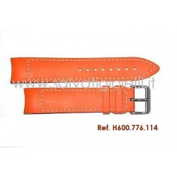 HAMILTON AIR RACE orange rubber strap H600.776.114 ref. H600776114 x H776650 H776950