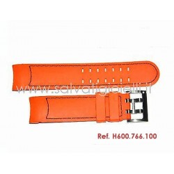 HAMILTON X-COPTER orange strap H600.766.100 ref. H600766100 for H766160