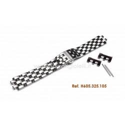 HAMILTON steel bracelet  JAZZMASTER 22mm H605.325.105 ref. H325960, H32596131, H32596551