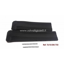 TISSOT T-TOUCH Expert Solar Black rubber strap 22/20 mm ref. T610.034.733 T610034