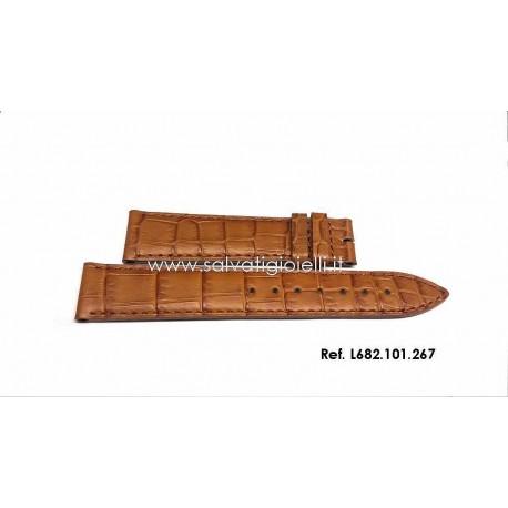 LONGINES  brown strap 18mm L682.101.267 ref. L682101267