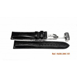 HAMILTON VENTURA black strap 17 mm H600.244.101 ref. H600244101 for H244110