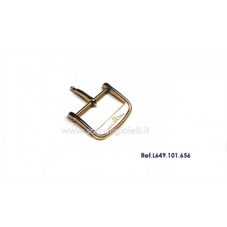 LONGINES plated buckle 16mm ORIGINAL L649101656 boucle hebilla Dornschließe L649.101.656