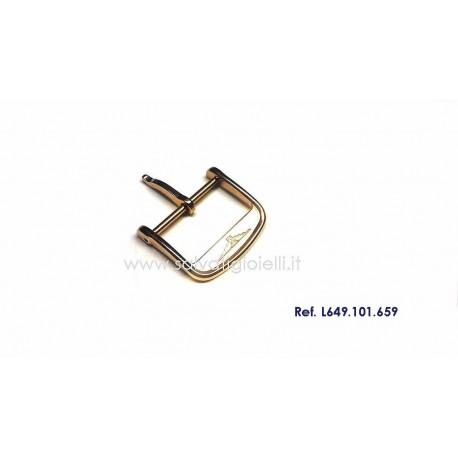 LONGINES plated buckle 18mm ORIGINAL L649101659 boucle hebilla Dornschließe L649.101.659